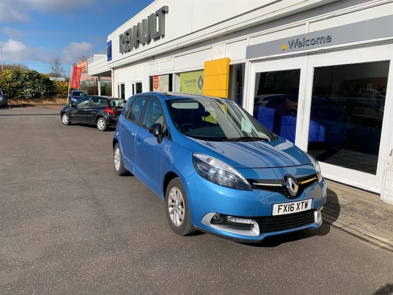 used Renault Scenic LIMITED NAV DCI in lincolnshire