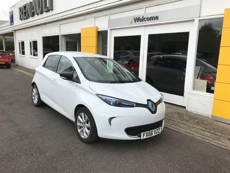 used Renault Zoe DYNAMIQUE NAV in lincolnshire