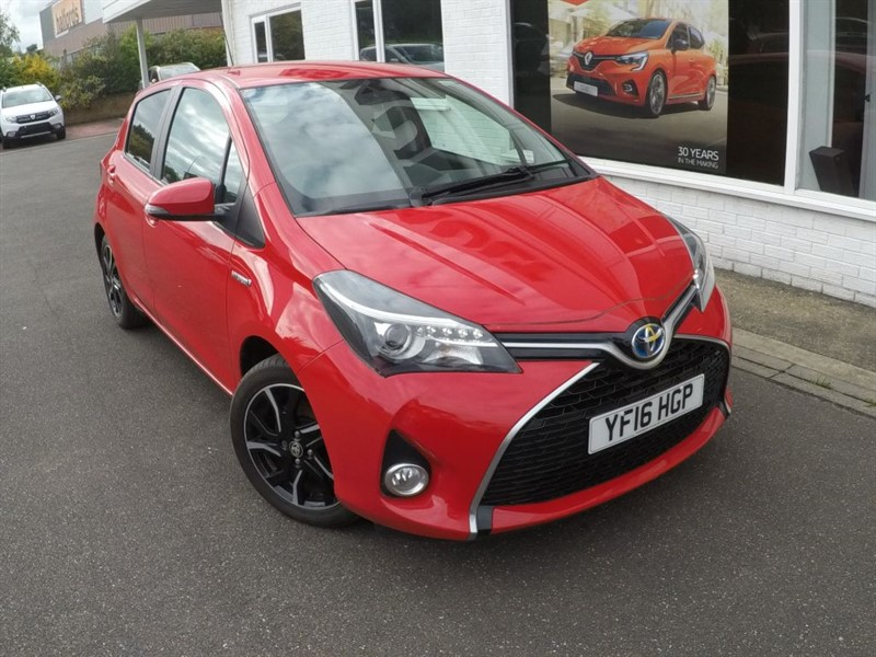 used Toyota Yaris VVT-I DESIGN M-DRIVE S in lincolnshire