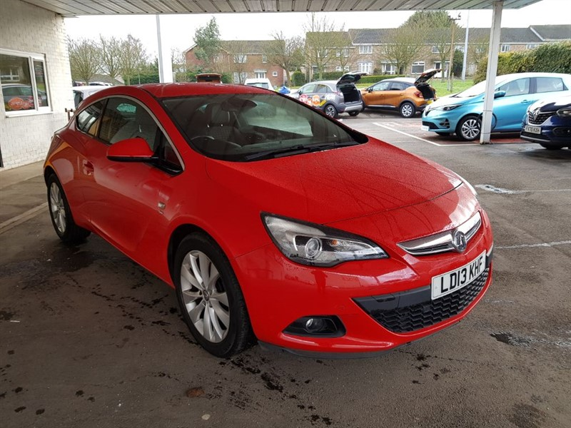 used Vauxhall Astra GTC SRI in lincolnshire
