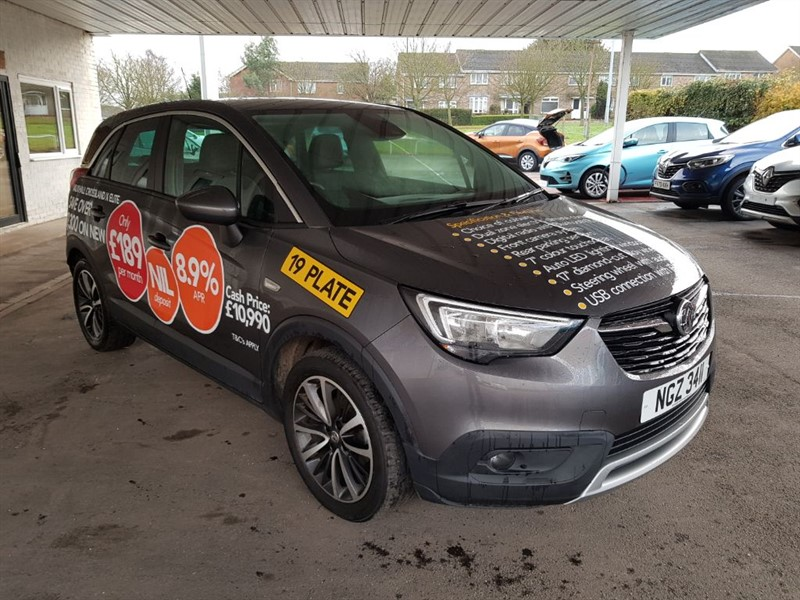 used Vauxhall Crossland X ELITE in lincolnshire
