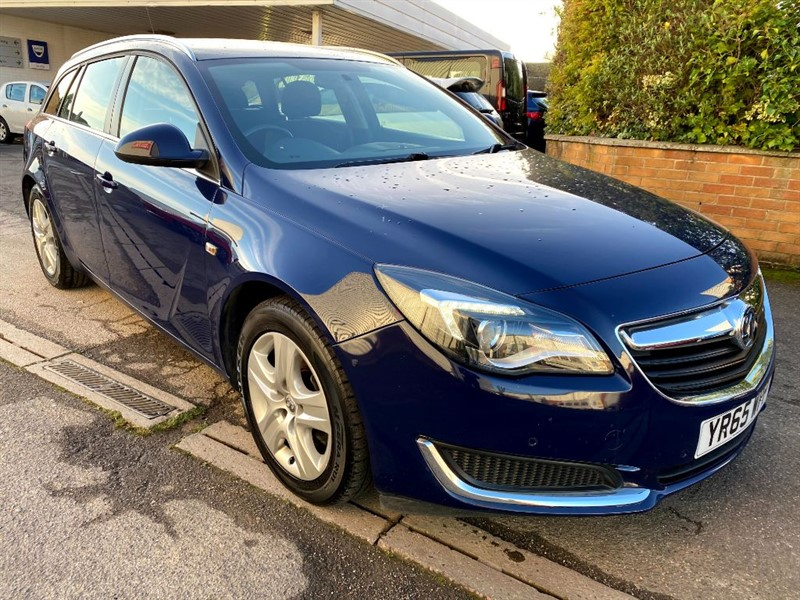 used Vauxhall Insignia DESIGN CDTI in lincolnshire