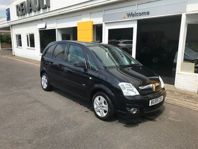 used Vauxhall Meriva DESIGN 16V in lincolnshire