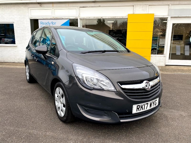 used Vauxhall Meriva CLUB in lincolnshire