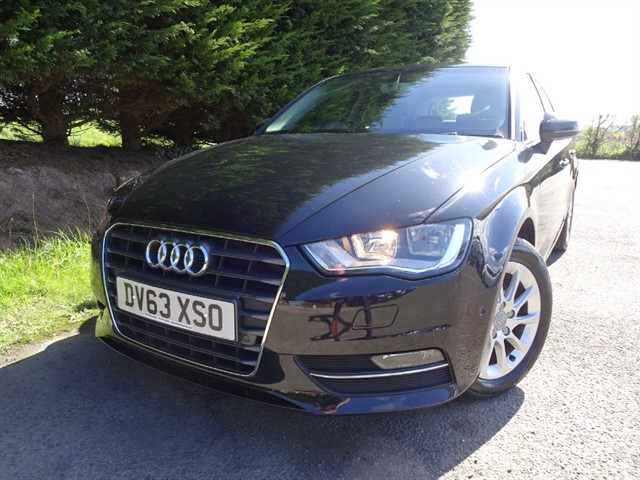 used Audi A3 TDI SE (105bhp) (New Model) in herefordshire-for-sale