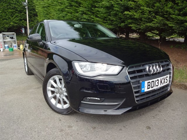 used Audi A3 TDI SE (150bhp) (Sat-Nav) in herefordshire-for-sale