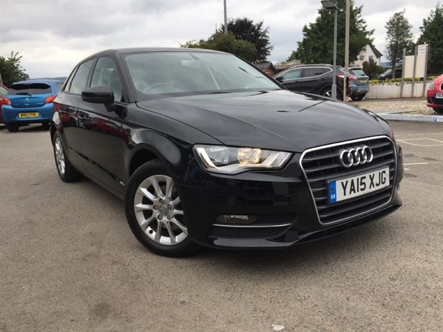 used Audi A3 TDI SE (110bhp) (Sat-Nav) in herefordshire-for-sale