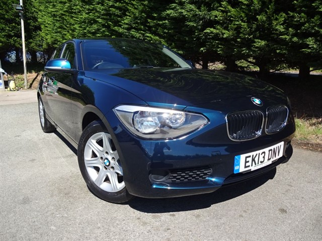 used BMW 114d ES (95bhp) in herefordshire-for-sale