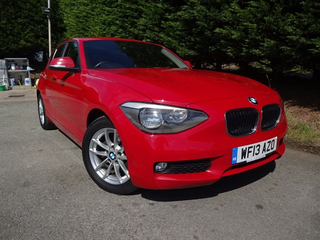 used BMW 116d SE (115bhp) in herefordshire-for-sale