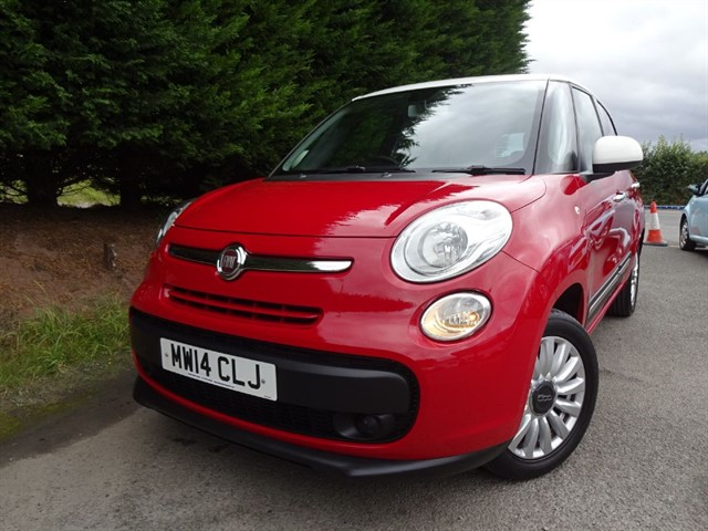 used Fiat 500L MPW Multijet Pop Star (85bhp) (7 x Seat) in herefordshire-for-sale