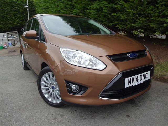 used Ford Grand C-Max TDCI Titanium (115bhp) (7 x Seat) in herefordshire-for-sale