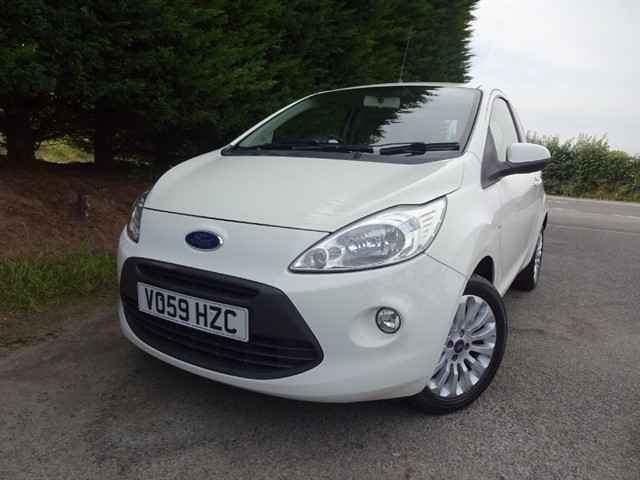 used Ford KA Zetec (70bhp) in herefordshire-for-sale