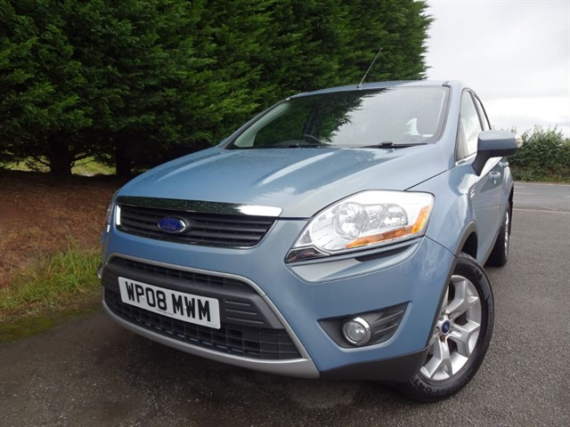 used Ford Kuga TDCI Zetec (140bhp) (AWD) in herefordshire-for-sale