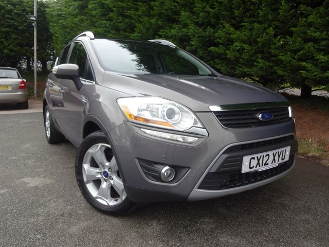 used Ford Kuga TDCI Titanium-X (163bhp) (AWD) in herefordshire-for-sale