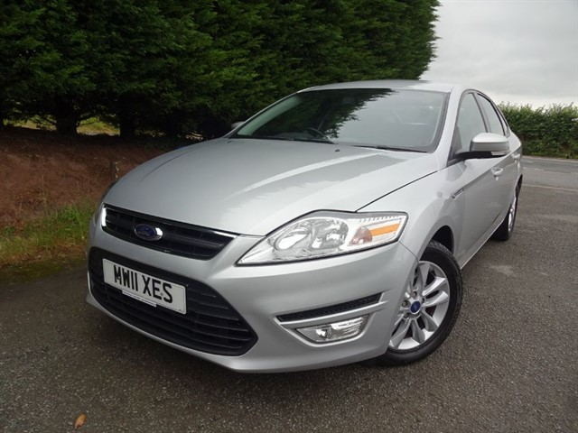 used Ford Mondeo TDCI Zetec (115bhp) in herefordshire-for-sale