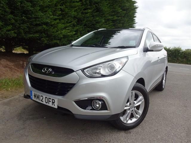 used Hyundai ix35 CRDI Premium (115bhp) in herefordshire-for-sale