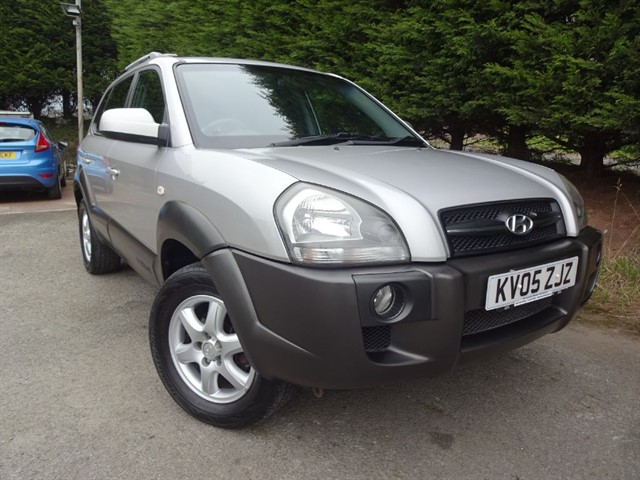 used Hyundai Tucson CRTD CDX (110bhp) (4WD) in herefordshire-for-sale