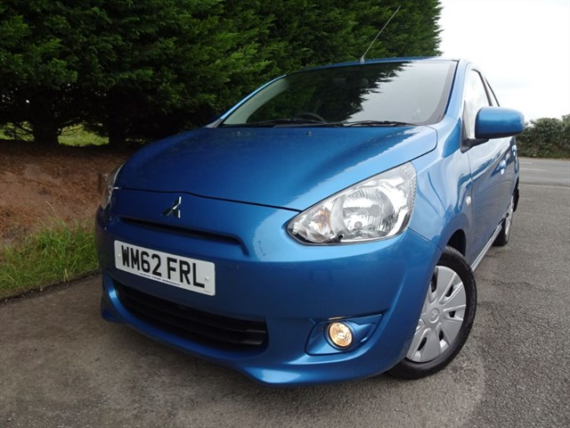 used Mitsubishi Mirage Level 2 (80bhp) in herefordshire-for-sale