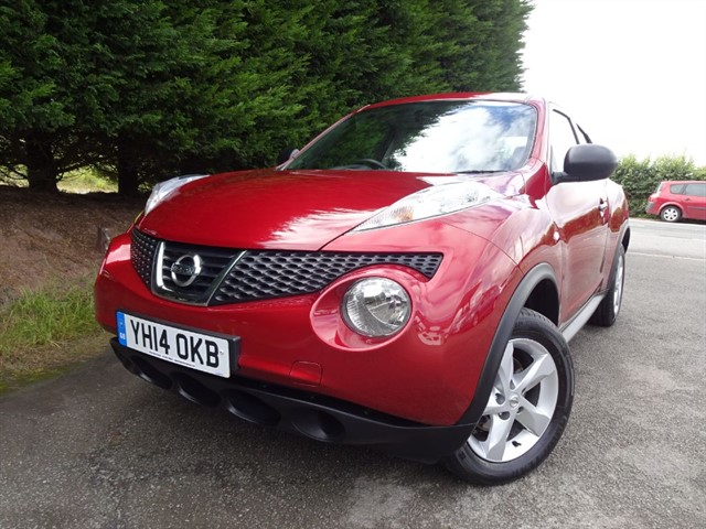 used Nissan Juke DCI Visia (110bhp) in herefordshire-for-sale