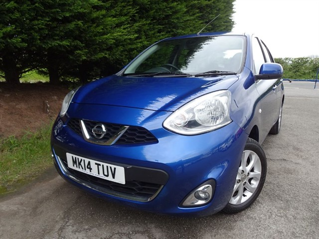 used Nissan Micra Acenta (80bhp) (Automatic) in herefordshire-for-sale