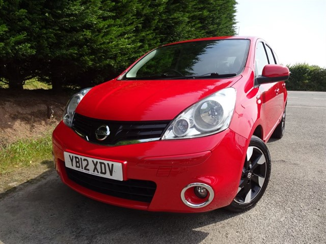 used Nissan Note DCI N-Tec Plus (90bhp) in herefordshire-for-sale