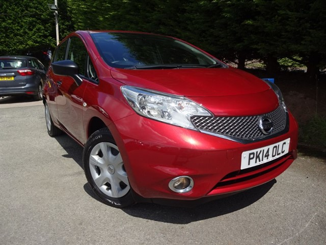 used Nissan Note Visia (80bhp) in herefordshire-for-sale