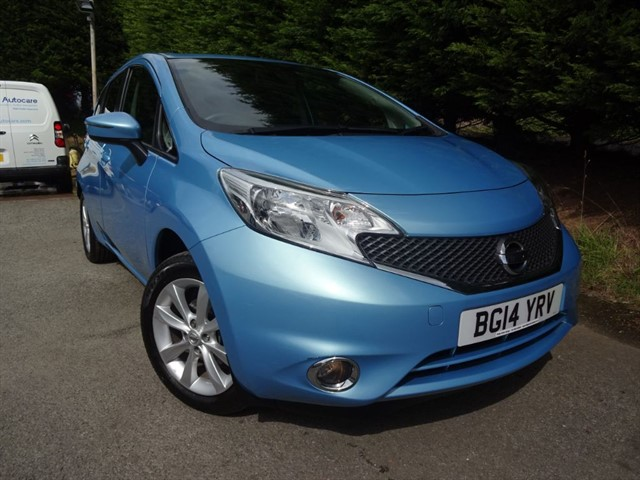 used Nissan Note DIG-S Acenta Premium (100bhp) in herefordshire-for-sale