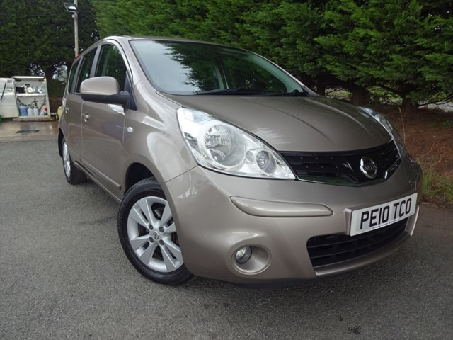 used Nissan Note Acenta (100bhp) (Automatic) in herefordshire-for-sale