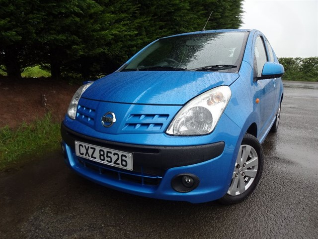 used Nissan Pixo N-Tec (67bhp) in herefordshire-for-sale