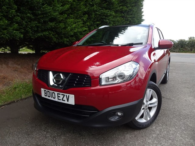 used Nissan Qashqai DCI N-Tec (105bhp) in herefordshire-for-sale