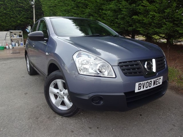 used Nissan Qashqai Visia (115bhp) in herefordshire-for-sale