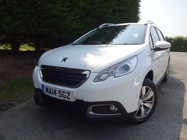 used Peugeot 2008 HDI Active (70bhp) in herefordshire-for-sale