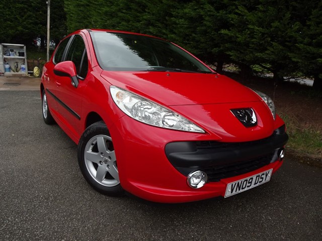 used Peugeot 207 HDI Verve (70bhp) in herefordshire-for-sale