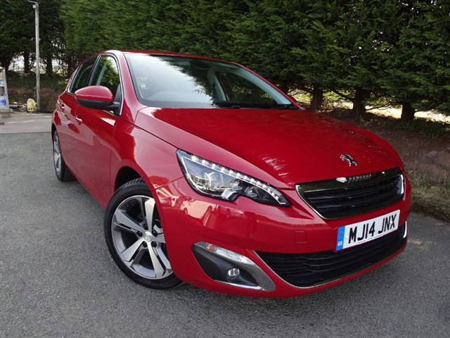 used Peugeot 308 HDI Allure (115bhp) in herefordshire-for-sale