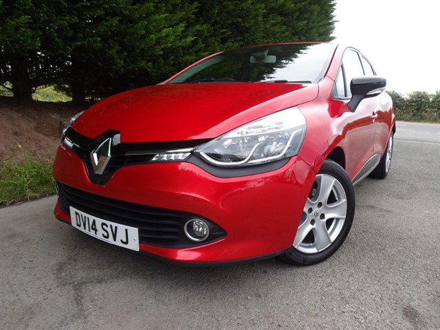 used Renault Clio TCE Dynamique Media Nav Energy (90bhp) in herefordshire-for-sale