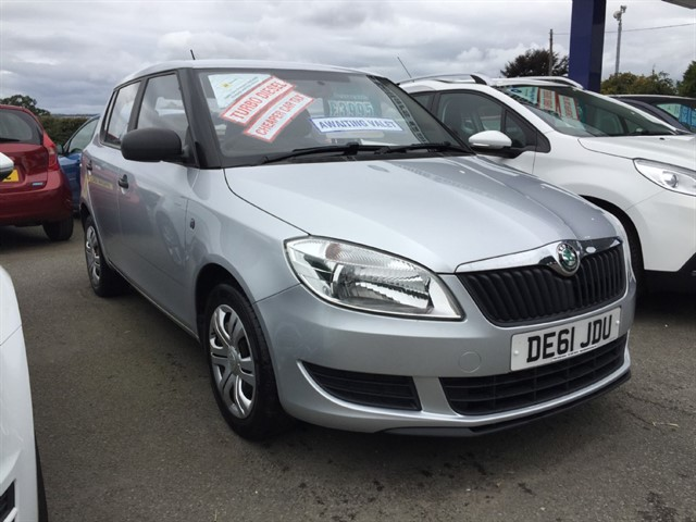 used Skoda Fabia TDI S (90bhp) in herefordshire-for-sale