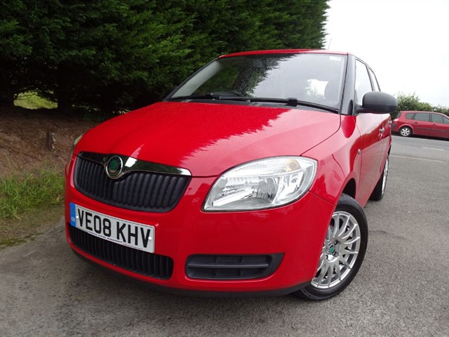 used Skoda Fabia Level 1 (60hp) in herefordshire-for-sale