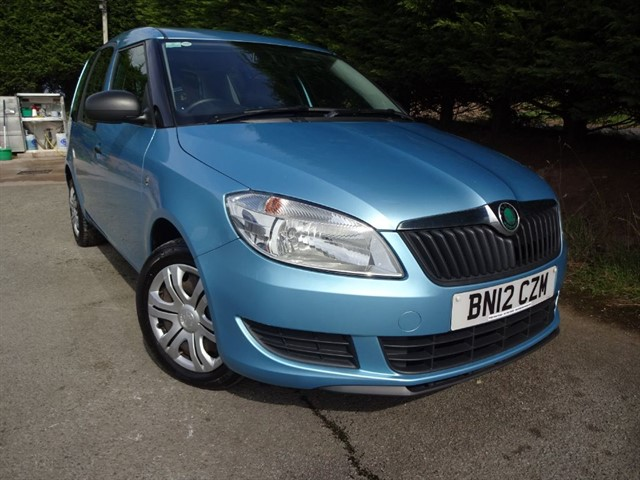 used Skoda Roomster TSI S (85bhp) in herefordshire-for-sale