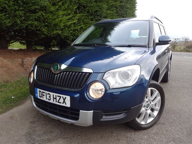 used Skoda Yeti TDI Elegance (110bhp) (2WD) in herefordshire-for-sale