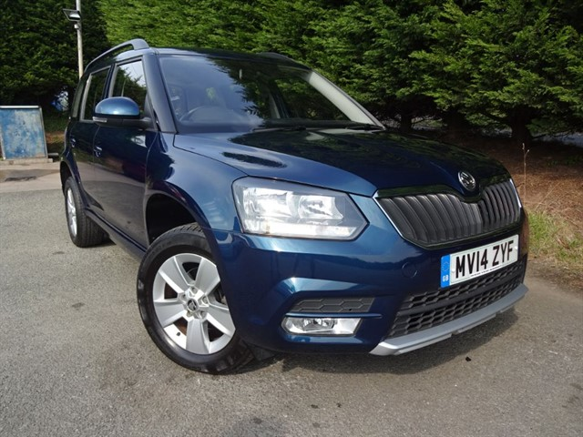 used Skoda Yeti TDI S (110bhp) in herefordshire-for-sale