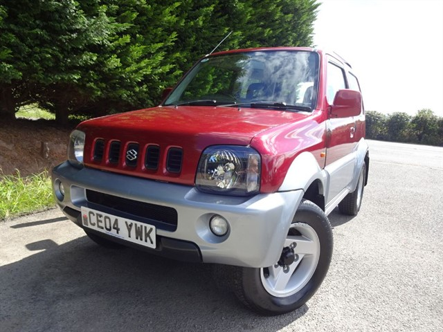 used Suzuki Jimny JLX Mode (83bhp) (4x4) in herefordshire-for-sale