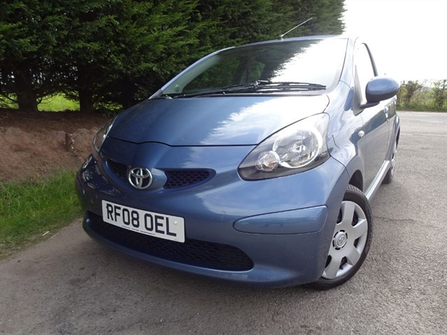 used Toyota Aygo VVT-I Blue (70bhp) in herefordshire-for-sale