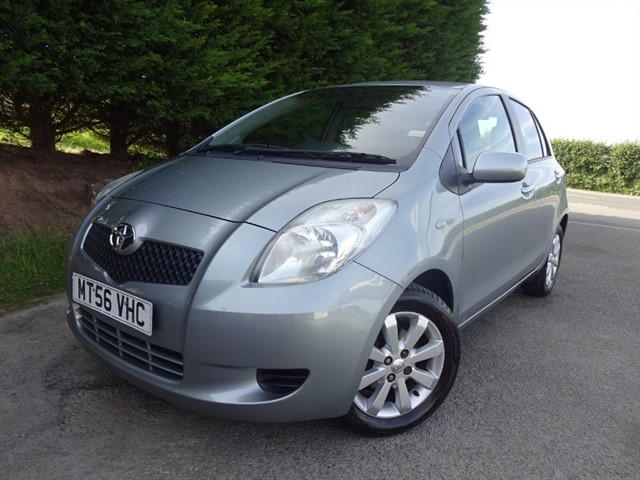 used Toyota Yaris VVT-I T3 Multimode (85bhp) (Auto) in herefordshire-for-sale