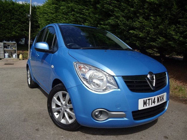 used Vauxhall Agila SE (95 bhp) in herefordshire-for-sale