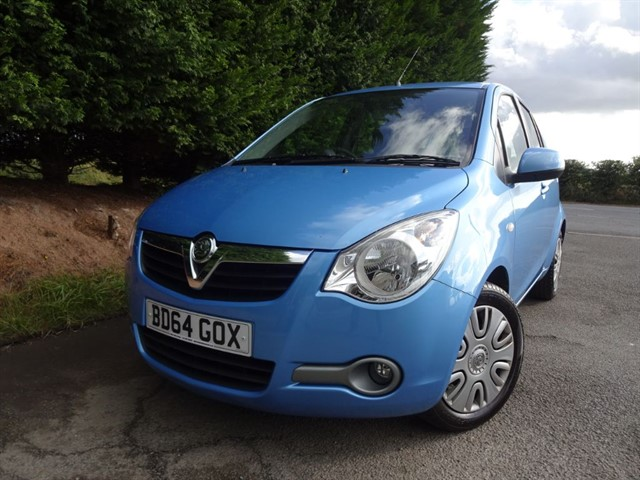 used Vauxhall Agila S (95bhp) in herefordshire-for-sale