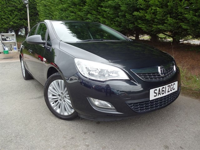 used Vauxhall Astra Excite (115bhp) in herefordshire-for-sale