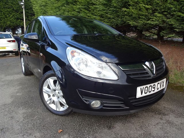used Vauxhall Corsa Design (90bhp) in herefordshire-for-sale