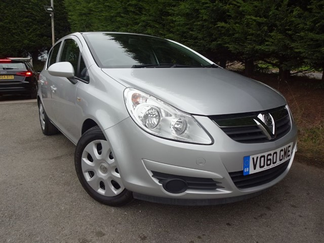 used Vauxhall Corsa Exclusiv A/C (85bhp) in herefordshire-for-sale