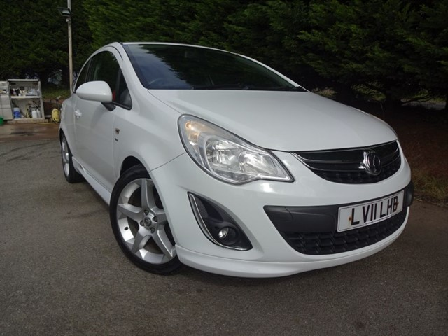 used Vauxhall Corsa SRI (100bhp) in herefordshire-for-sale