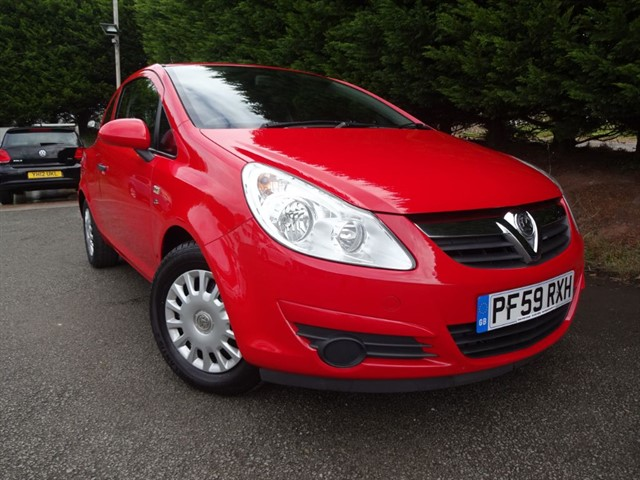 used Vauxhall Corsa S EcoFLEX (64bhp) in herefordshire-for-sale